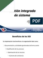 Gestión integrada de sistema