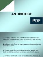 Presentation Antibiotice