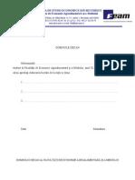 Model Cerere Licenta 2012