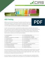 AZO Chemicals List