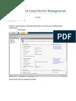Lab 1 Worksheet - Windows Server 2008 - Exam 70-646
