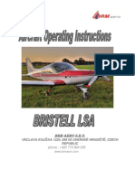 BRISTELLaircraft Operating Instructions