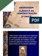 Abordagem Classica Adm Parte2