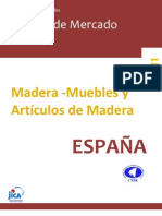 ESTUDIO MERCADO- MADERA MUEBLE HACIA ESPAÑA