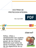 Doctrina de Proteccion Integral - ECUADOR