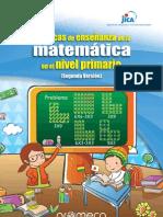 TECNICAS DE ENSEÑANZA DE LAS MATEMÁTICAS PARA NIVEL PRIMARIA.