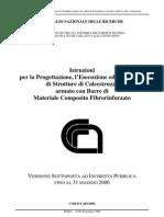 Istruzioni CNR-DT203_2006