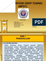 Multi Purpose Deep Tunnel MPDT Jakarta Indonesia