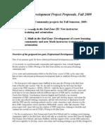 WEZ MEZ Prof Proposal 09