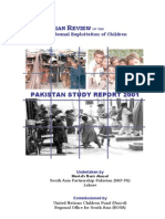 South Asian Review of the Commercial Sexual Exploitation of Children-Pakistan Study