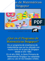 Programas de matemáticas Singapur