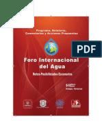Foro Internacional del Agua
