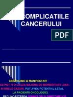 Complicatii Cancer