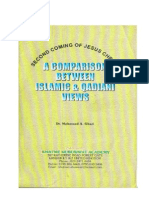 Comparison Bw Islamic and Qad Views