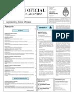 Decreto 636-13. Ley de Ministerios - Modificaciones