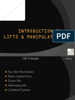 Introduction to Lifts and Manipulators