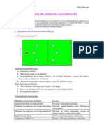 Sistemas de Juego en Ftbol 7