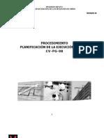 CV-PG-08 rev01 Planificación de la Ejecución de Obra