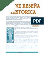 BREVE RESEÑA HISTORICA