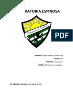 Metodos de Investigacion 2013