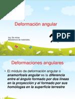 Deformación angular