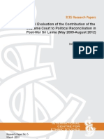 Dinesha BA Provisional Evaluation of the Contribution of the
