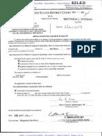 Search Warrant for J Loera
