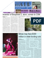 The Oredigger Issue 25 - April 20, 2009