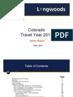 Colorado Tourism Report