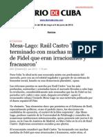 Boletín de Diario de Cuba | Del 28 de mayo al 4 de junio