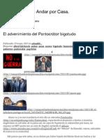 El advenimiento del Pantocrátor bigotudo | En Zapatillas de Andar por Casa.
