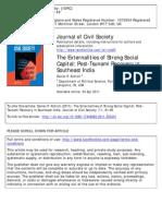 The Externalities of Strong Social Capital