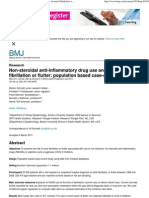 Non-steroidal anti-inflammatory drug use and risk of atrial fibrillation or flutter