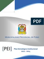 Plan Estrategico Institucional Puno