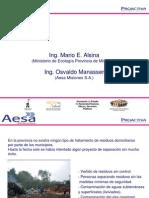 Sistema Integral de Gestion de RSU de la provincia de Misiones