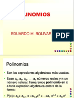 ECUACIONES POLINOMIALES