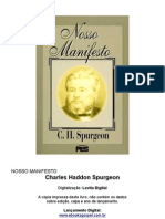 Nosso Manifesto - C. H. Spurgeon