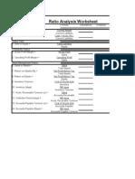 Formulas of Ratios