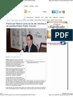 04-06-13 Pacto por NL no es de colores Pedro Pablo Treviño -Mnoticias