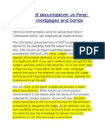 The 1-2-3 of securitization vs Ponzi scheme of mortgages and bonds.doc