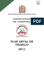 Plan de Trabajo Academia