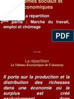 La répartition