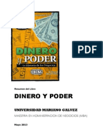 Resumen Libro Dinero y Poder