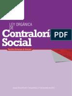 Organica de Contralor Social