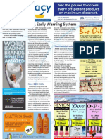 Pharmacy Daily for Wed 05 Jun 2013 - Early warning system, rosuvastatin dispensing, Phebra, PAC13, new products and much more