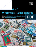 (Advances in Regulatory Economics) Michael a. Crew, Paul R. Kleindorfer, James I., Jr. Campbell-Handbook of Worldwide Postal Reform-Edward Elgar Pub (2009)