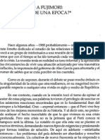 De Pizarro a Fujimori