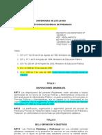 Propuesta Reglamento de Practica y Titulacion
