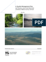 Pond Brook Water Quality Management Plan