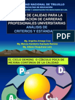 Diplomado Exposicion Criterios y Estandares